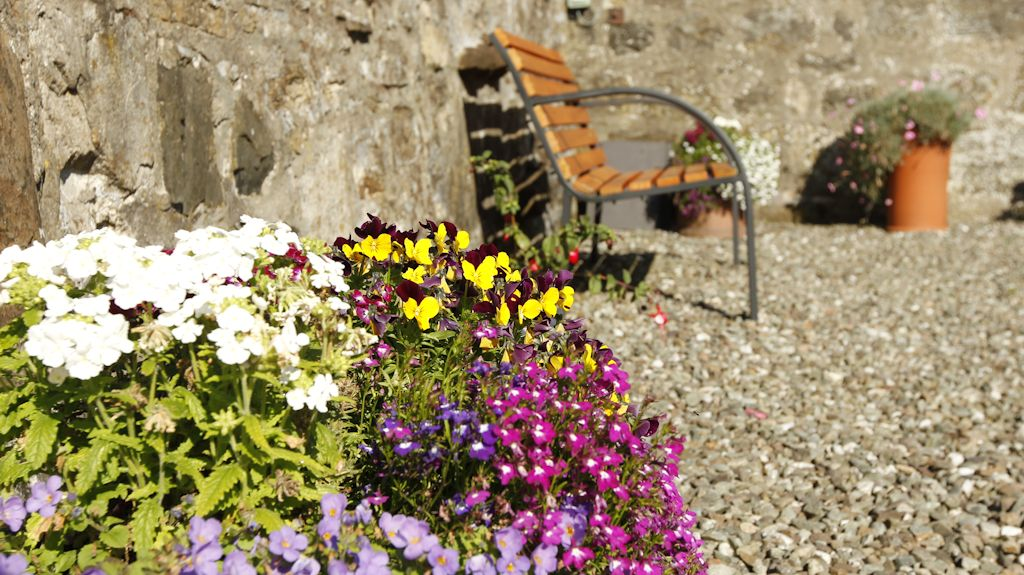 Garden at Easter Glentore Farm B&B