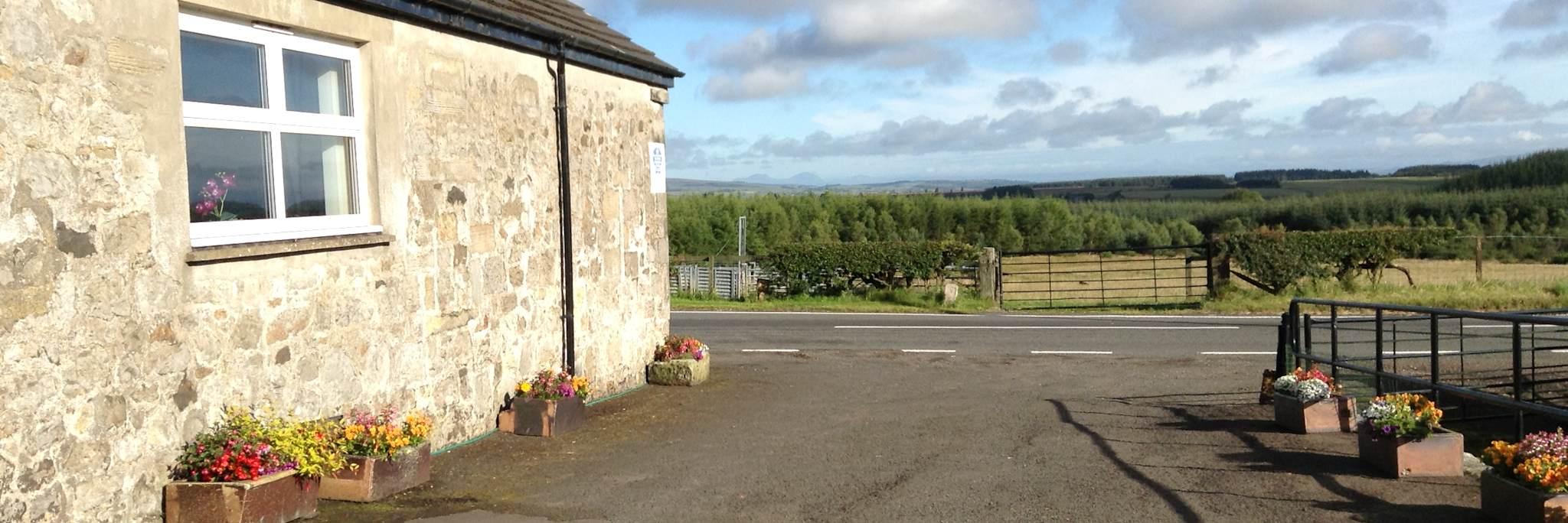 Easter Glentore Farm near Airdrie