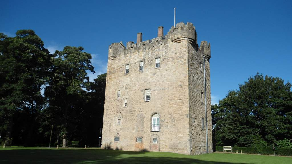 Alloa Tower near Garvally House