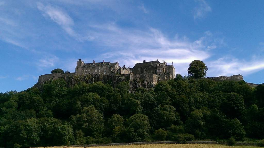 Stirling Castle near Garvally House