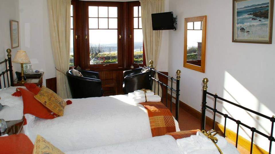 Guest Bedroom at Gruinard Guest House