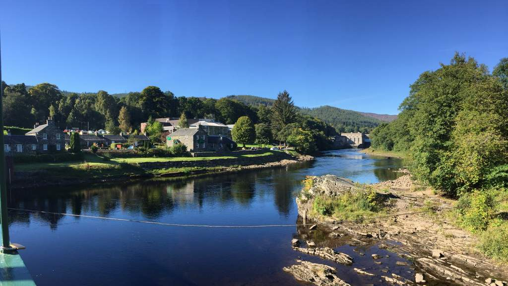 Pitlochry Dam, Theatre & River Tummel near Northlands B&B