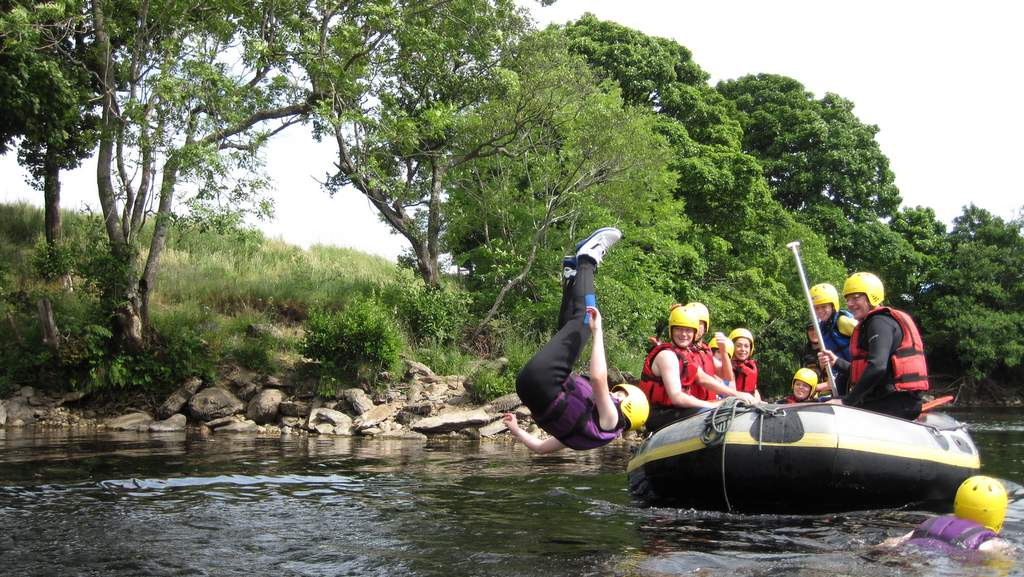 Watersports on the River Tay