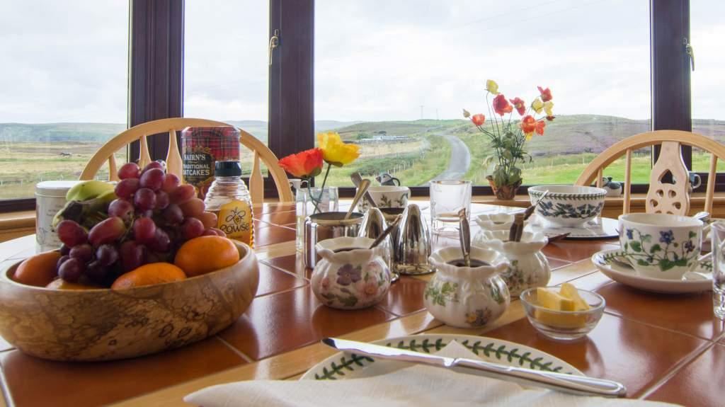 Breakfast at Sharvedda B&B