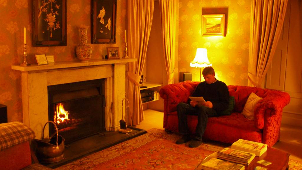 Guest Lounge at Spean Lodge