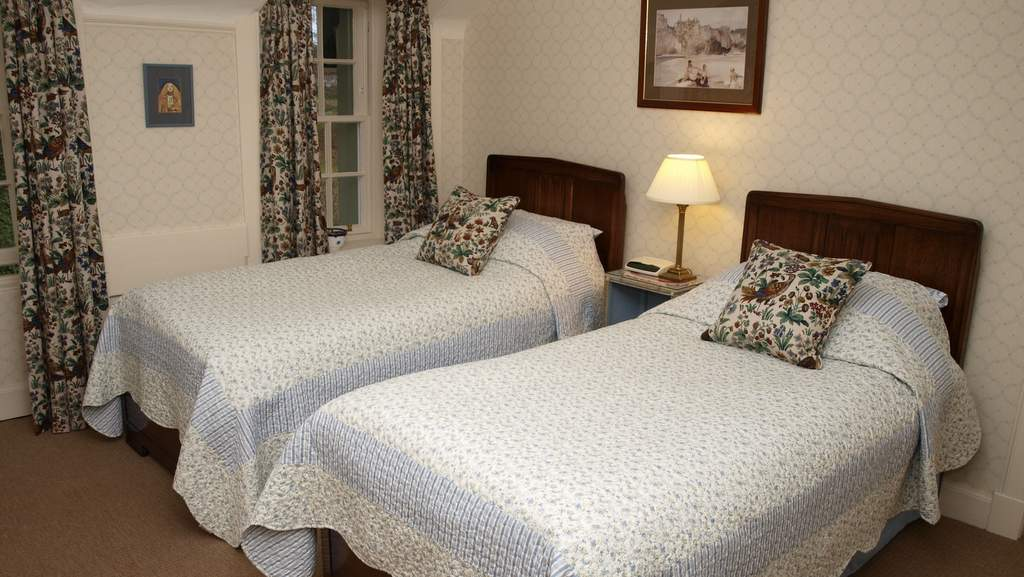 Twin Room at Spean Lodge