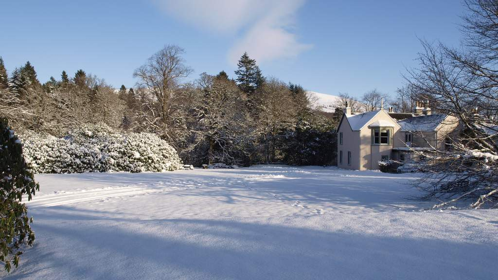 Spean Lodge in Winter