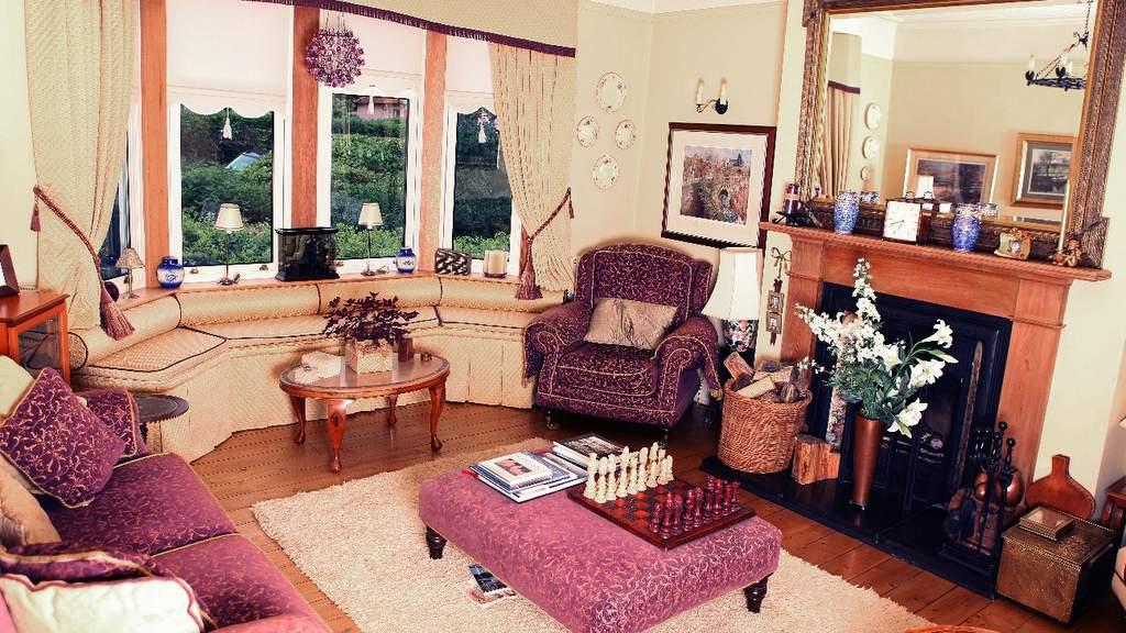 Guest Lounge at Kinnaber B&B