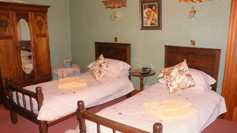 Guest Bedroom at The Old Vicarage B&B