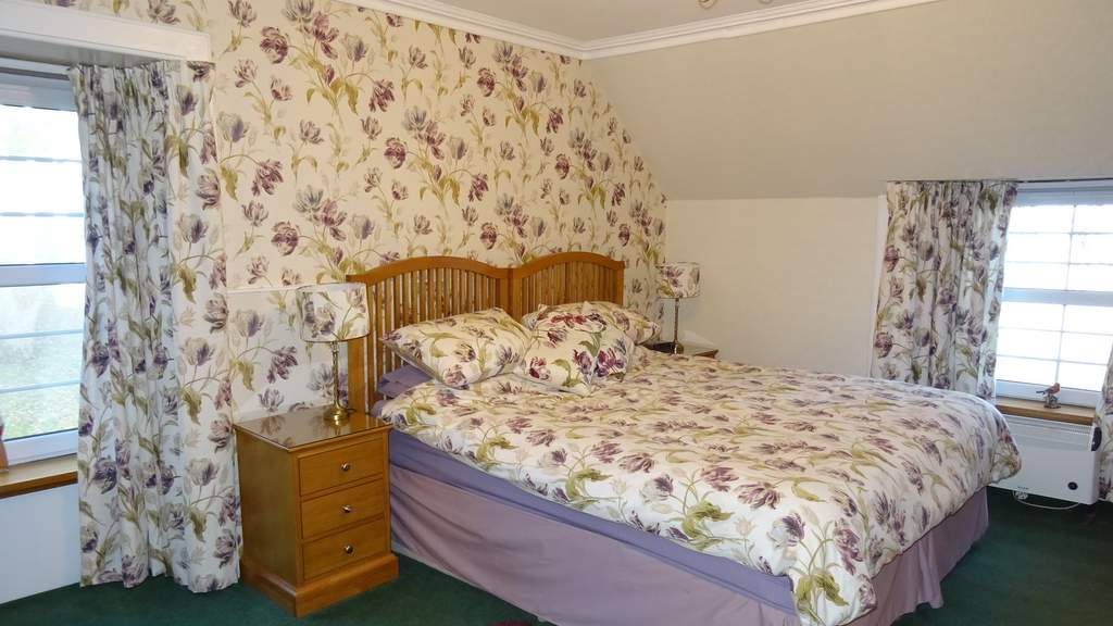 Guest Bedroom at Purgavie Farm