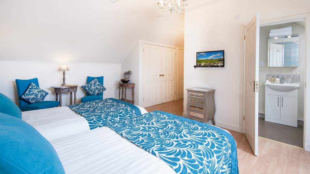 Guest Bedroom at Mill House