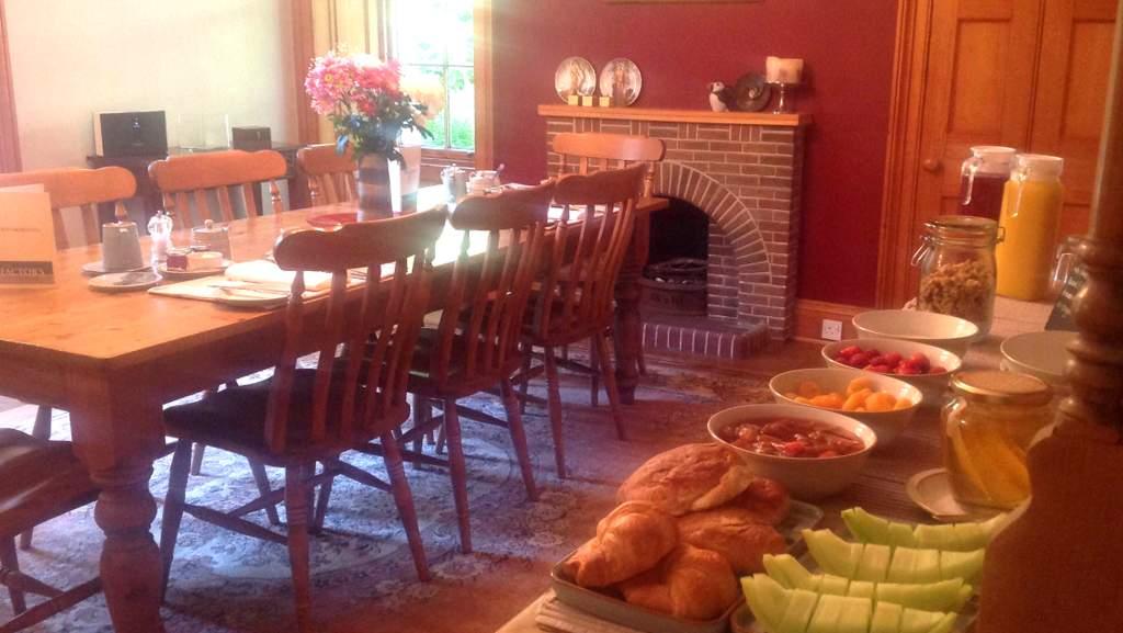Breakfast at Factors House B&B, Cromarty