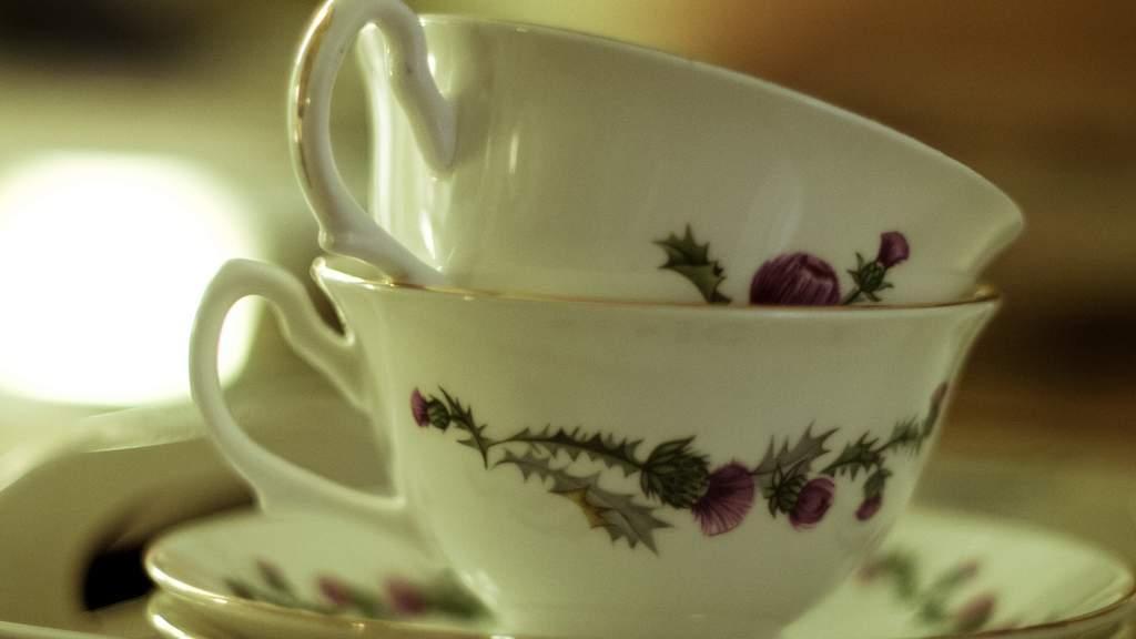 Tea at Garvally House in Alloa