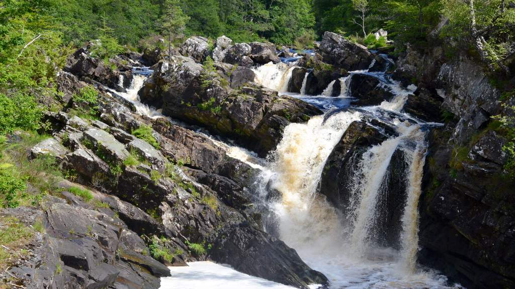 Rogie Falls, picture by Home Farm B&B