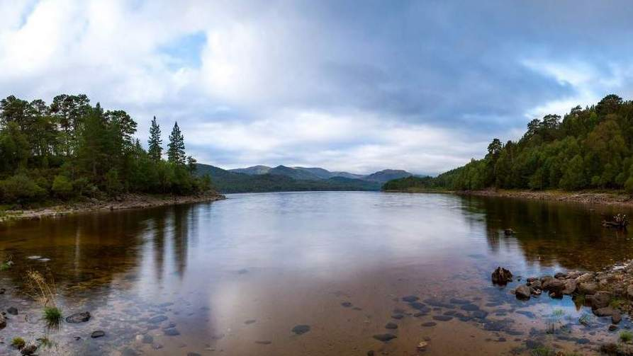 Opening Credits filmed in Cairngorms - Photo by Arden Country House, Linlithgow