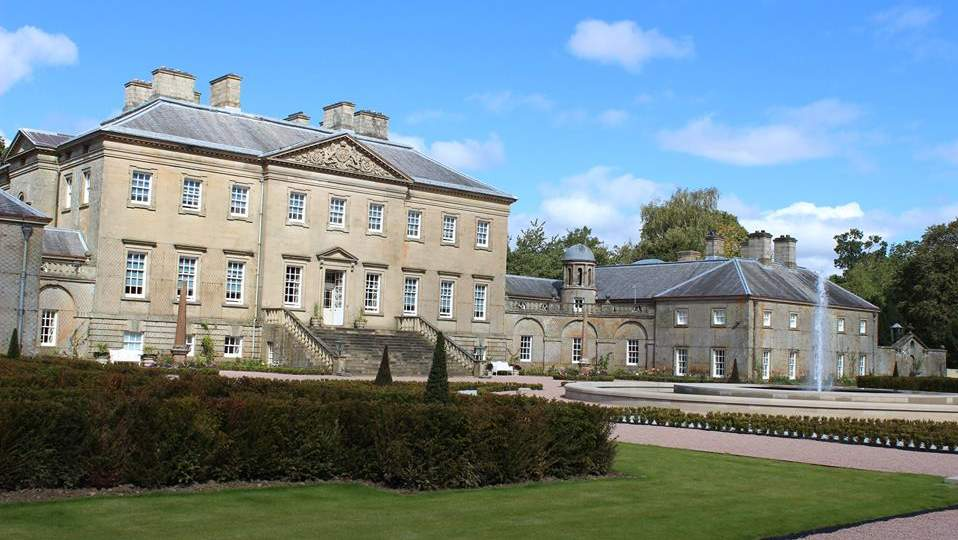 Dumfries House near Cumnock