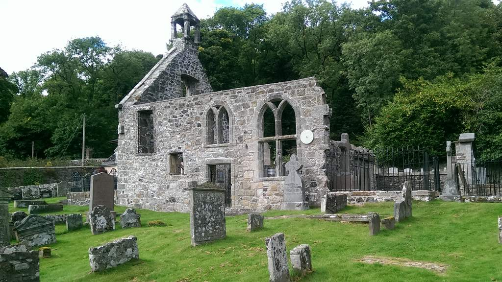 Old Kirk, Blairglogie - Photo by Garvally House in Alloa