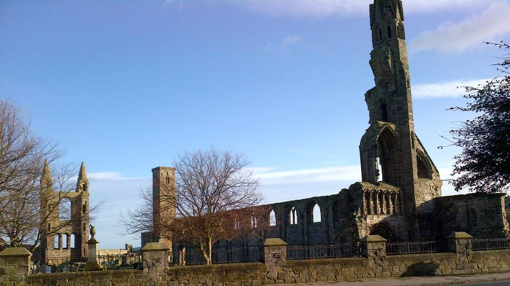 St Andrews Cathedral - Photo by Northlands B&B, Pitlochry