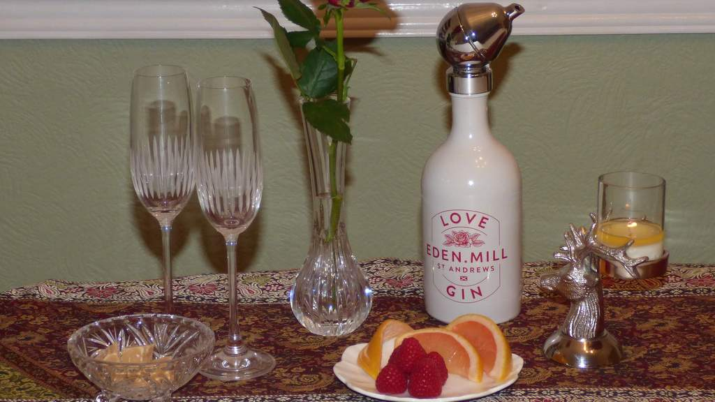Love Eden Mill Gin - picture by Auld Post Office, nr Thurso