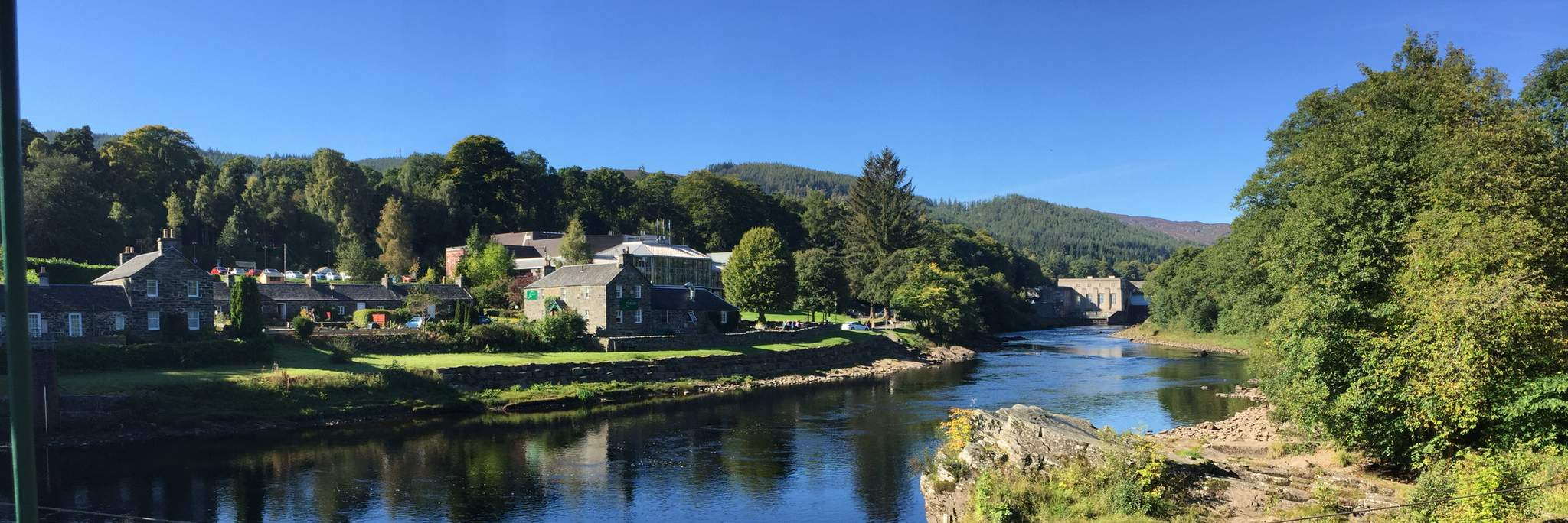 Pitlochry Theatre and Dam, Perthshire