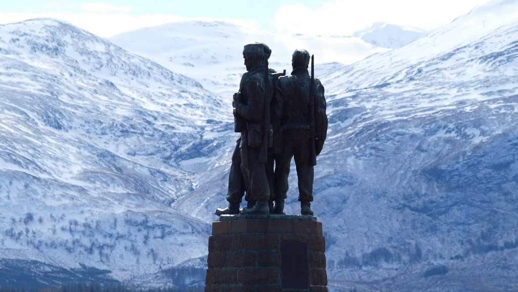 Commando Memorial - Photo by Spean Lodge Country House, Spean Bridge