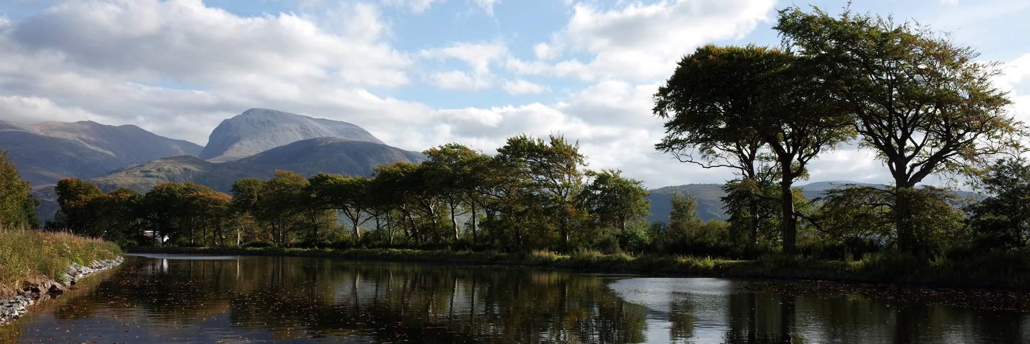 Caledonian Canal & Ben Nevis