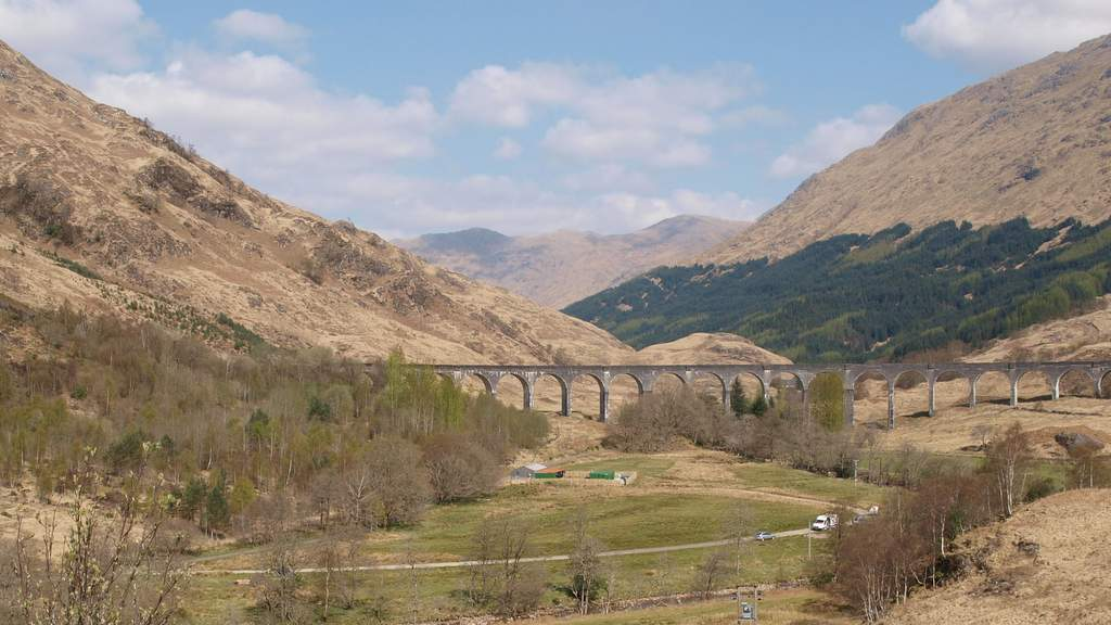 Glenfinnan Viaduct- Picture by Spean Lodge Country House, Spean Bridge