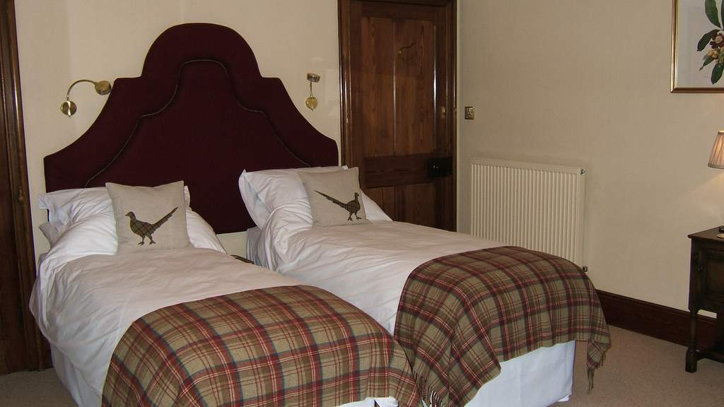 Guest Bedroom at Glebe House