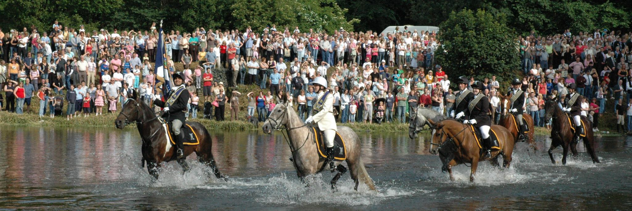 Horse riding in the Scottish Borders