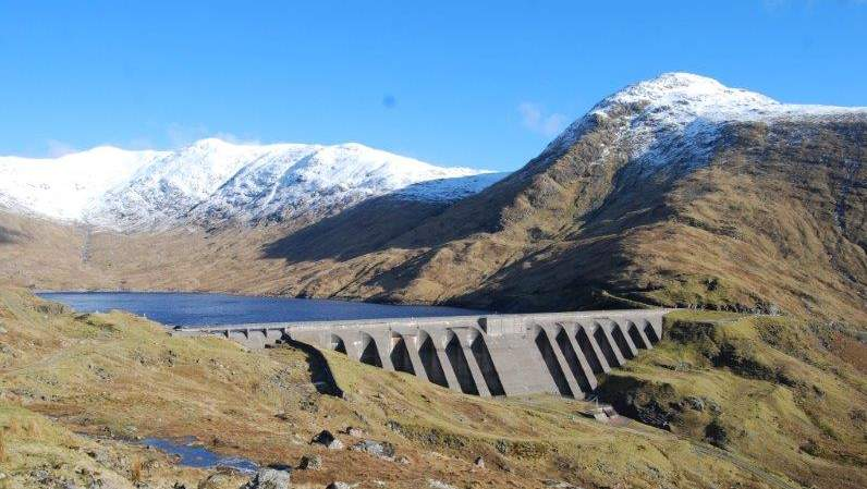 Cruachan Dam - Picture by Roineabhal B&B, Taynuilt