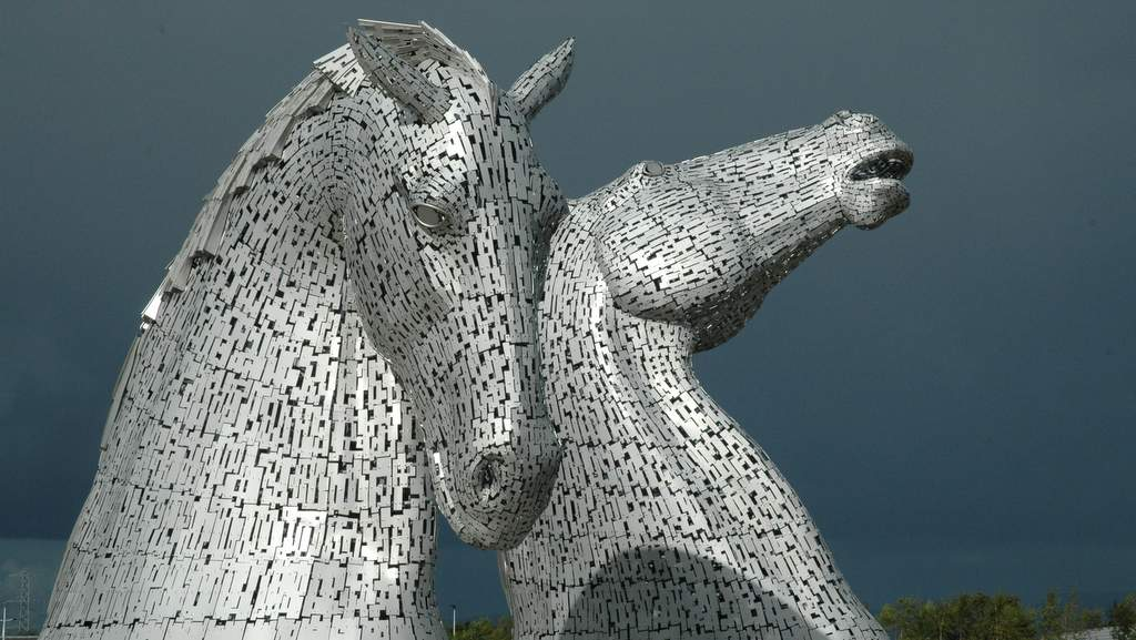 The Kelpies - Photo by The School House nr Jedburgh