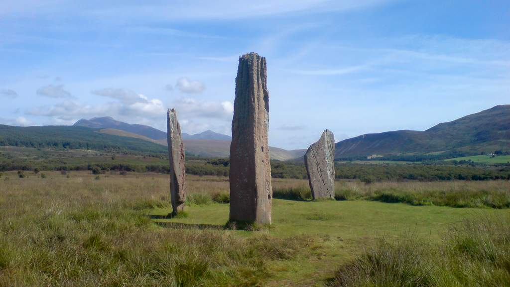 Standing Stones, Isle of Arran - Photo by Garvally House in Alloa