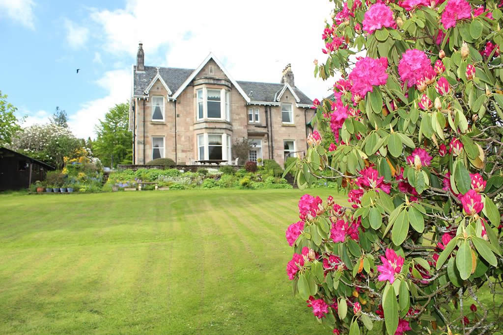 Westerton B&B, Callander from the garden