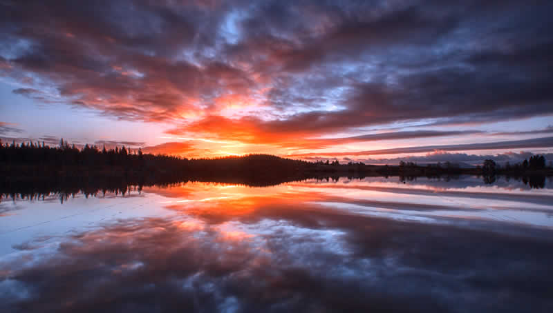 Loch Ruskie, Callander at Dawn