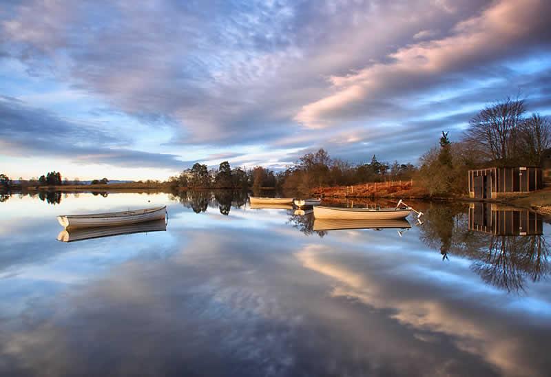 Loch Ruskie at Callander