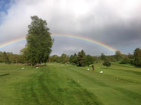 Enjoy the scenery at Callander golf club, Perthshire
