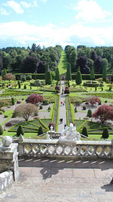 Drummond Gardens, Crieff.
