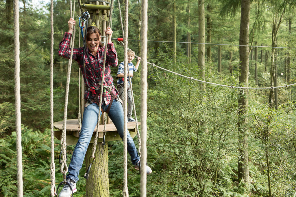 Go Ape , The Lodge, Aberfoyle, Near Callander