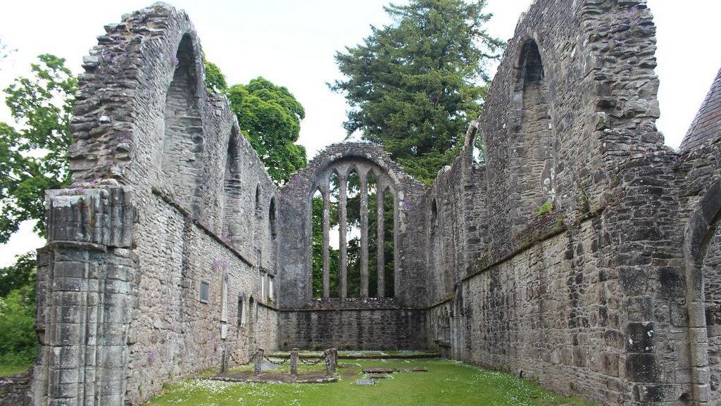 Inchmahome Priory near Callander