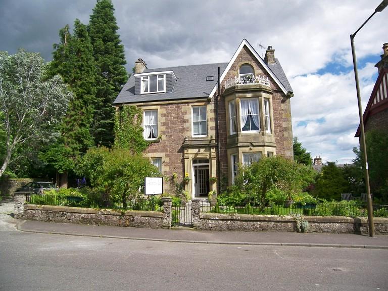 Annfield Guest House, in Callander, The Trosaachs, Scotland