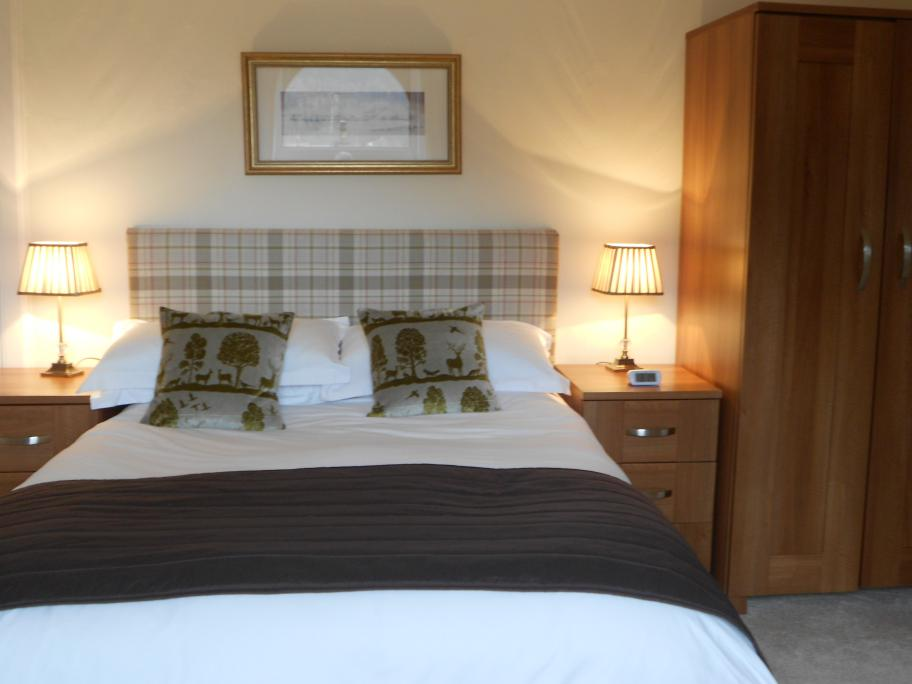 Double bedroom at Annfield Guest House, Callander
