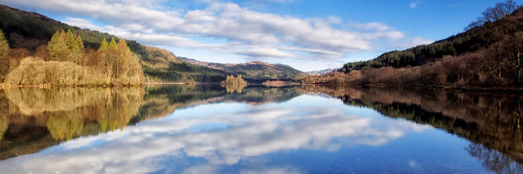 Stunning scenery near Callander, Perthshire
