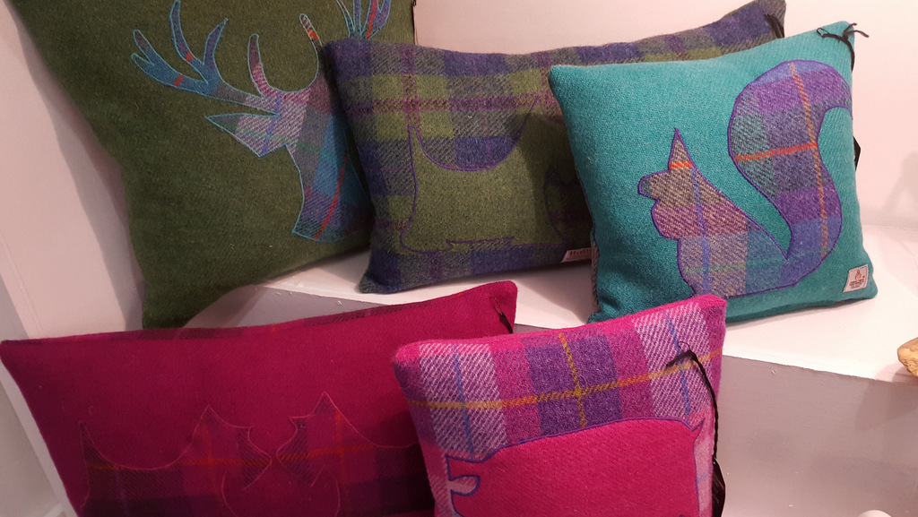 Cushions and soft furnishings in Callander, The Trossachs