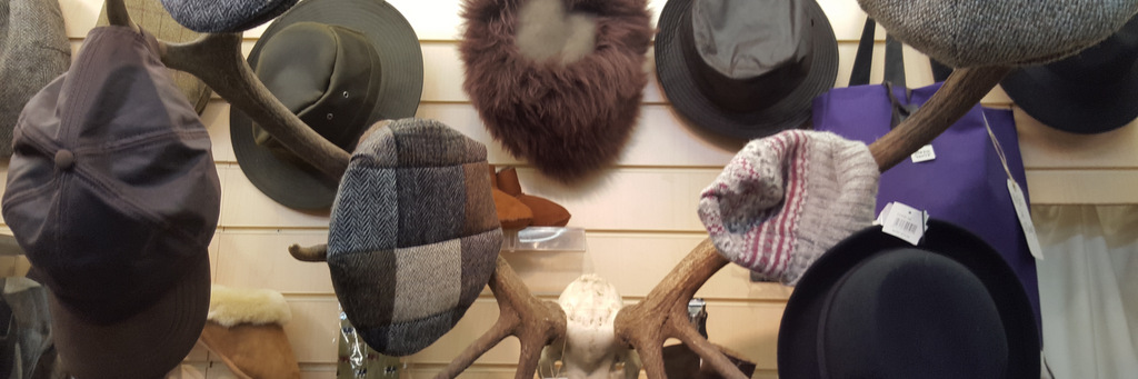Hats off to Callander- shopping in the Trossachs