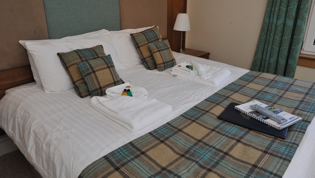 Informal luxury at Poppies Hotel, Callander, UK