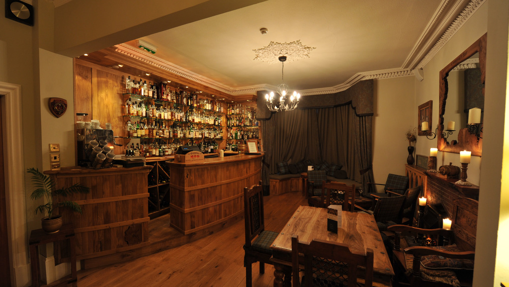 The Whisky Bar at Poppies Hotel, Callander