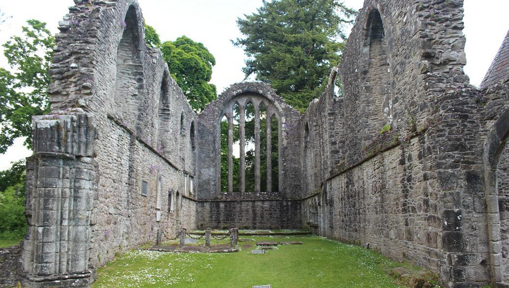 Inchmahome priory at the Lake of Menteith