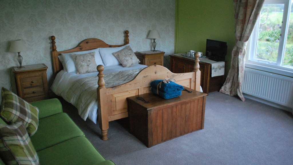 Bedroom at Lots Cottage, Callander, The Trossachs