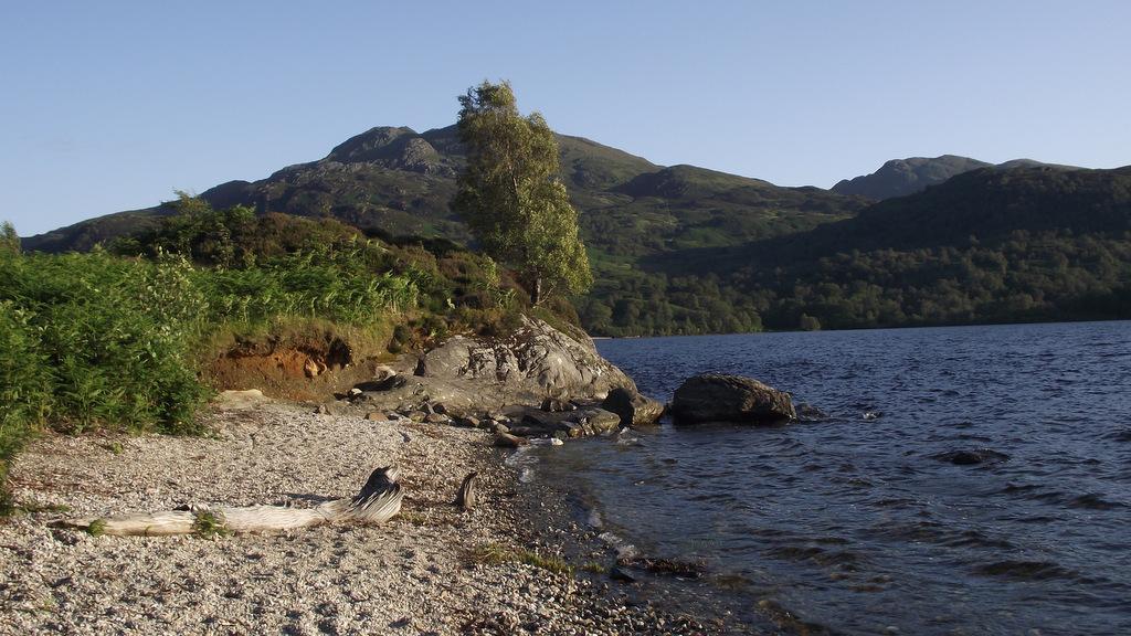 Breathtaking scenery at Loch Katrine near Callander, Perthshire