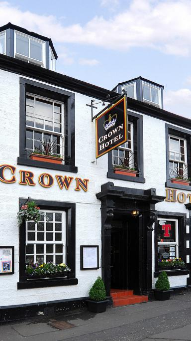 Looking after our customers since 1740 at the Crown Hotel, Callander